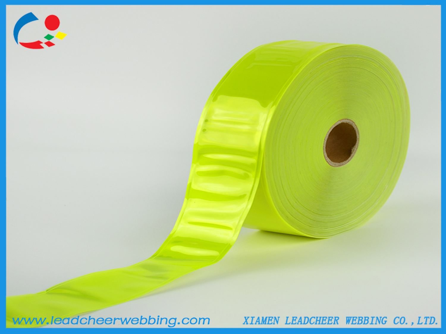 warning safety reflective PVC strap