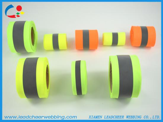 High visibility Reflective Webbing Tape