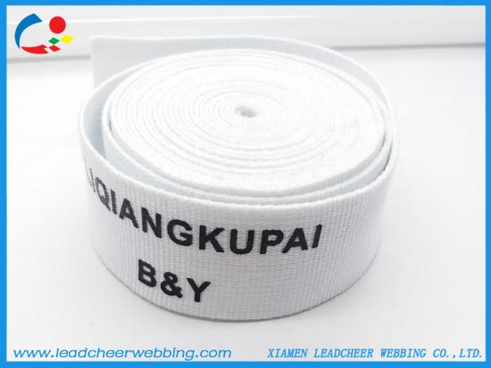 customized silkscreen printing webbing