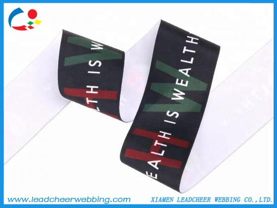 Customized Design Silk-screen Printing Webbing